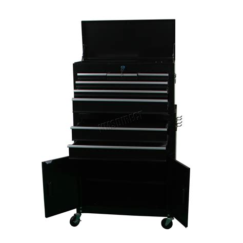 magnum garage storage system new components kms tools foxhunter metal tool box chest cabinet storage organizer cart garage steel new ebay