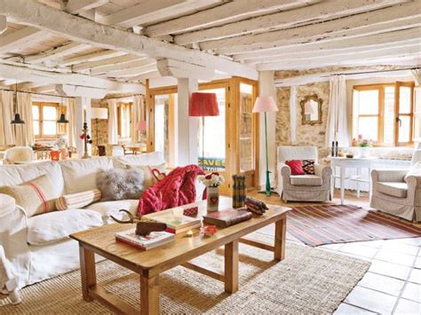cottage home interiors lovevly rustic cottage interior featuring a surprising