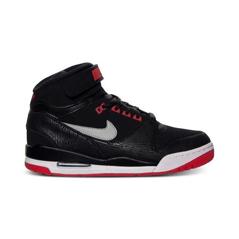 black nike sneakers mens nike air revolution basketball sneakers in black for