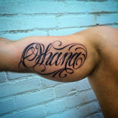ohana tattoo ohana designs ideas and meaning tattoos for you