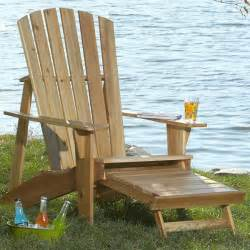adirondack chair plans adirondack chair with footrest woodworking plan from wood