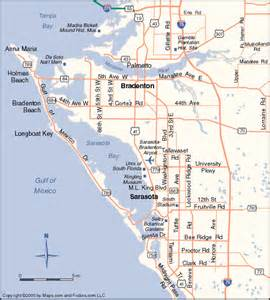 sarasota florida map siesta key vacation