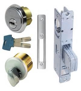 Steel or aluminum frame entry door high security mortise deadbolt lock