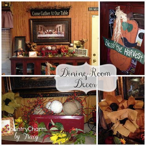 thanksgiving home decor  country charm  tracy