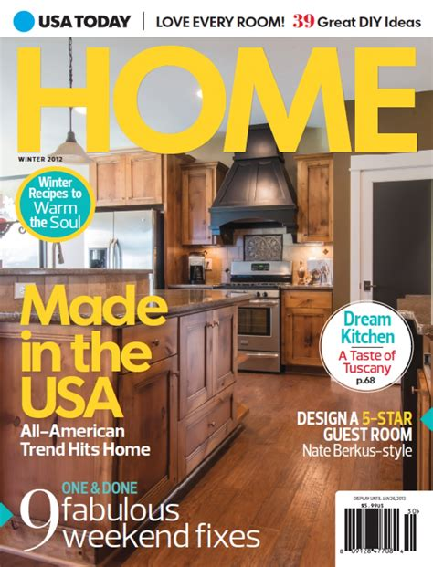 home design magazine covers usa today home magazine cover photoshoot