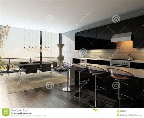 sgabelli da cucina prezzi interno nero della cucina con gli sgabelli da bar ed il