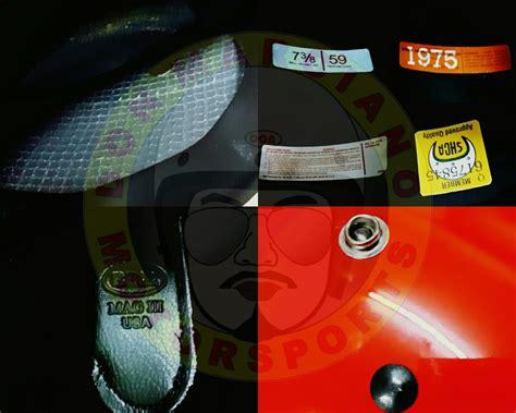 Helmet Bell Oren racing enterprise bell magnum 3 oren malaya