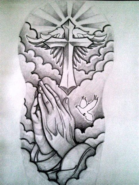 cross tattoo designs half sleeve drawings tattooic