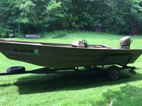 duck hunting boats for sale in indiana voyager 1660 with mercury 35 hp duck hunting and fishing