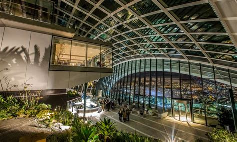 sky garden nel grattacielo walkie talkie il nuovo parco