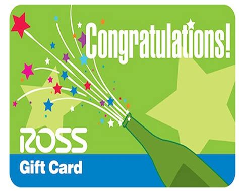 Ross Gift Card - ross gift card is perfect choice for any occasion