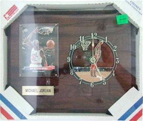 Kevin Garnett 1998 Basketball Nba Court Collection Figure michael chaney clock collection 8 quot x 10 quot wooden wall mount clock plaque