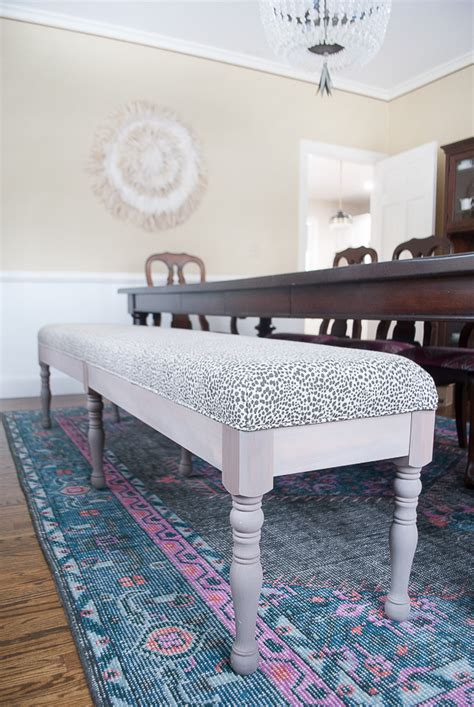 diy upholstered dining bench diy upholstered dining bench the chronicles of home