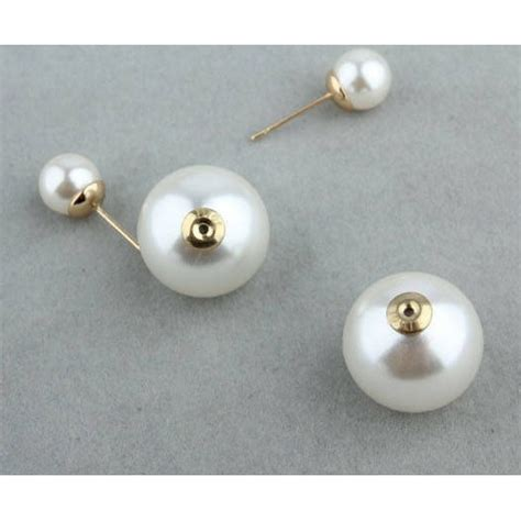 Anting Korea Fashion Karakter Mini Aksesoris Wanita Murah Wanita korean size big pearl earrings anting wanita black jakartanotebook