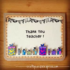 mini series 02 happy teachers day crafty card handmade from the