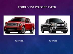 Ford F150 Vs F250 Ford F 150 Vs Ford F 250