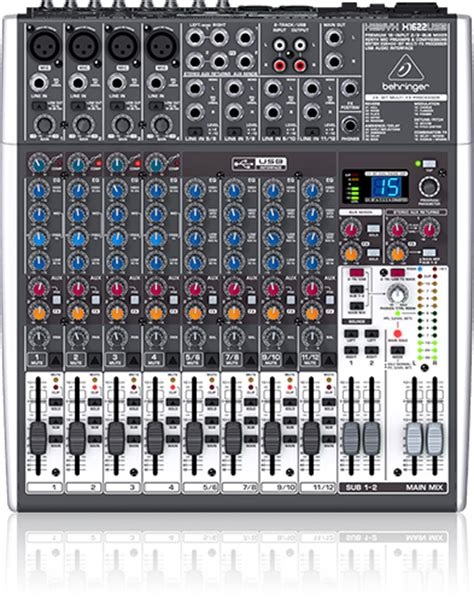 Mixer Audio Behringer 6 Chanel behringer malaysia pa system mixers passive and active