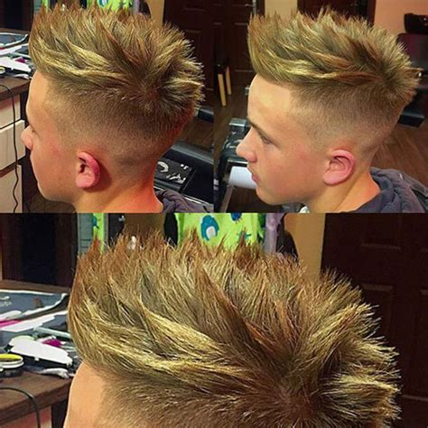 Spiky Mens Hairstyles by Spiky Hairstyles For 2018