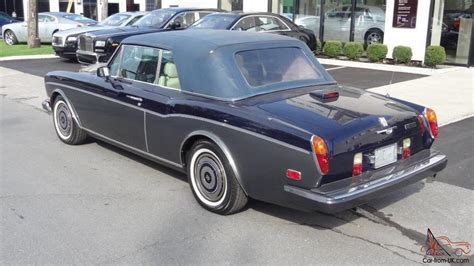 rolls royce corniche 2 door convertible