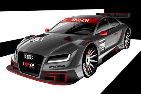 Audi V8 Dtm Aufkleber by Audi A5 Dtm Das Neue Coup 233 Wird Zum Rennwagen Speed Heads