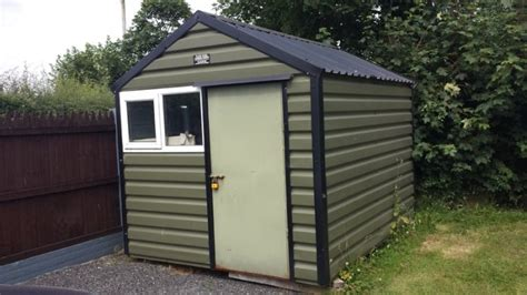 Clane Sheds by 8x10 Clane Steel Shed 750 Takeaway For Sale In Donadea