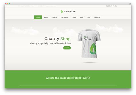 eco site 15 green eco friendly wordpress themes for green organic