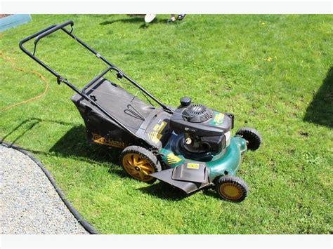 yardman push lawnmower  honda gc  engine west shore langfordcolwoodmetchosin