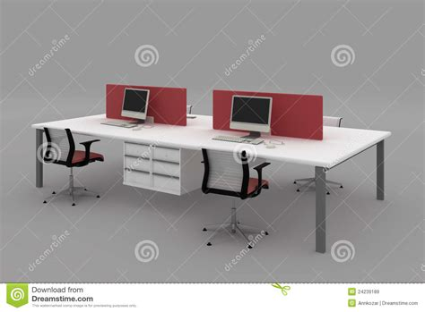 office desk with partition system office desks with partitions royalty free stock