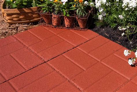 types of pavers for patio concrete pavers