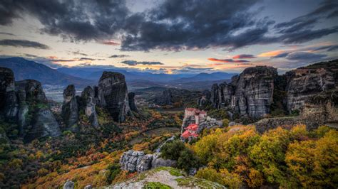 hd wallpaper 1920x1080 greece meteora wallpapers pictures images