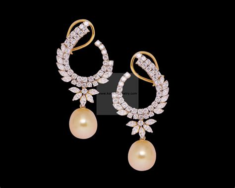 earings desing diamond earrings bridal diamond chandbali designer