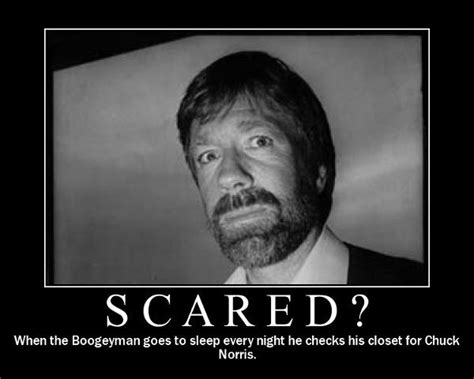 Memes Scared - everymom to ironmom why chuck norris jokes are dangerous