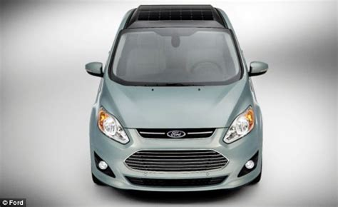 Solar Powered Cruise Cars Use The Sun On The Golf Course by New Solar Powered Ford Can Recharge Its Batteries Without