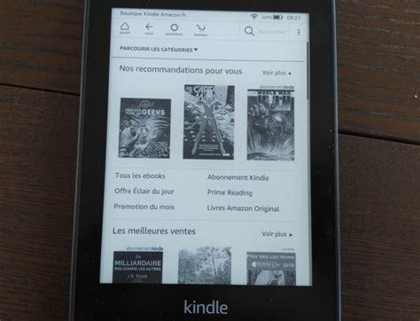 kindle libreria test de la liseuse kindle paperwhite vid 233 o