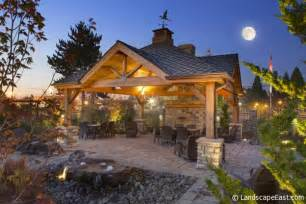 outdoor covered patio structures 7 outdoor hearths for portland landscaping