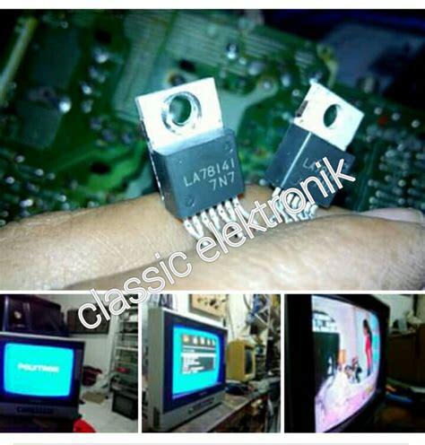 Ic Vertikal Tv Polytron polytron mx14m17 problem vertikal electronic service