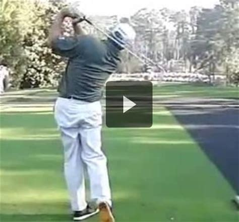 freddie couples golf swing slow motion pin by powerchalk compare your technique to pros on pga