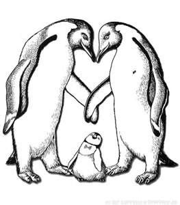 realistic penguin coloring page 9 best images about coloring pages penguins on pinterest