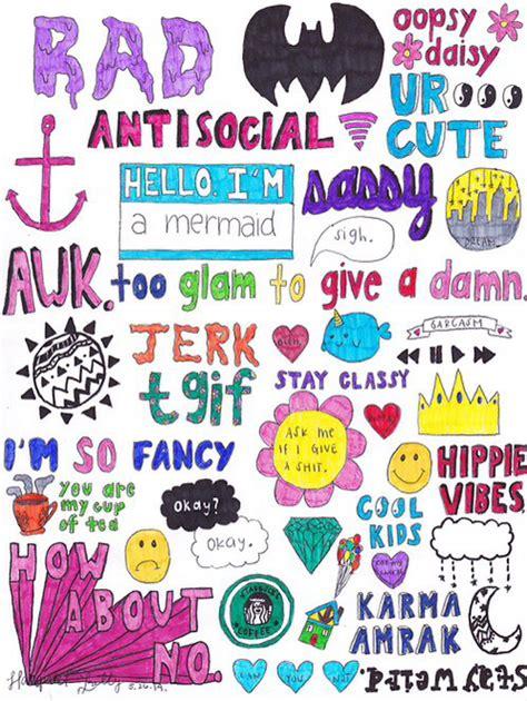 Wallpaper Sticker Girly wallpaper image 2182114 by lauralai on favim