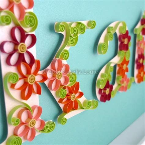 quilling names tutorial 17 best images about paper zen quilling on pinterest