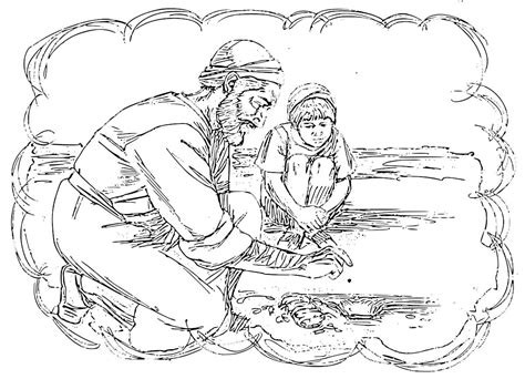 mustard tree coloring page good shepherd and lost sheep parable coloring pages