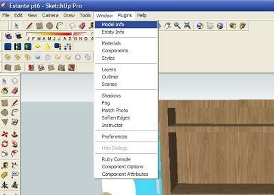 tutorial do google sketchup 8 em portugues tutorial sketchup brasil desenhando uma estante