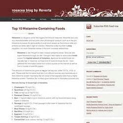 low histamine foods lists pearltrees