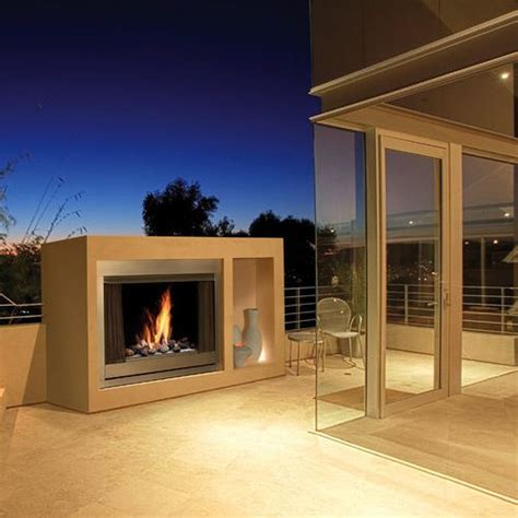 Outdoor Fireplace Clearance by Kingsman Ofp42n 42 Quot Wide Zero Clearance Outdoor Fireplace
