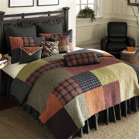 woodland square quilt