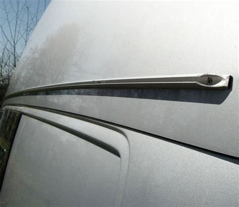 motorhome awning rail vw t4 one piece awning rail cer essentials