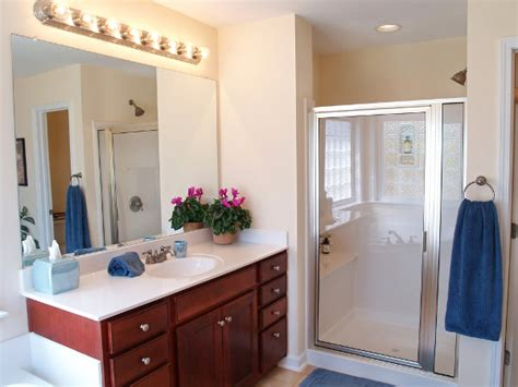bathroom vanity lighting above mirror ideas with bathroom