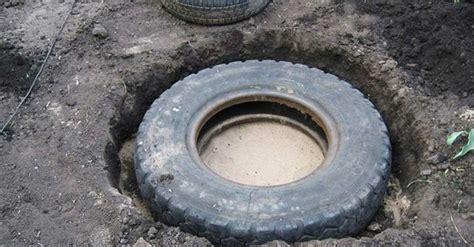 right in your own backyard make a pond out of a tire right in your own backyard