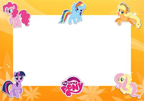 Photo Frame Pony friends photo frame png www pixshark images galleries with a bite