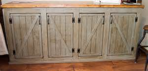 barn door style kitchen cabinets white scrapped the sliding barn doors rustic